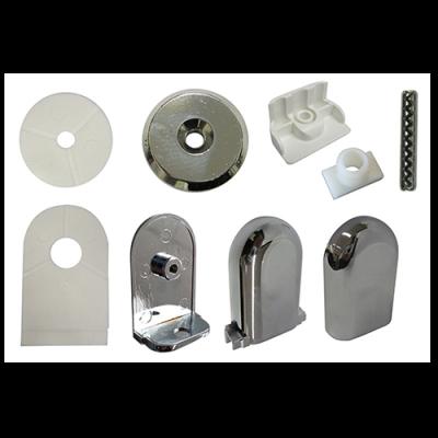 shower valencia hinge kit chrome 1152757c