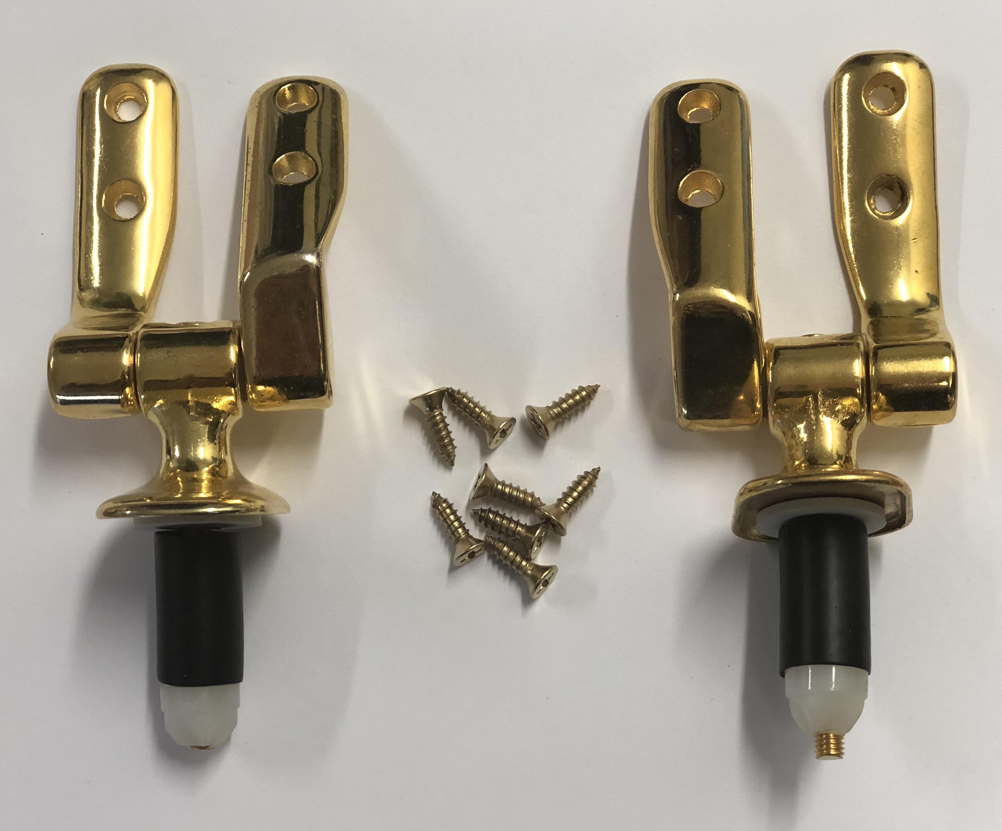 Kohler Calypso Seat Hinges Gold Hygrade Plumbing